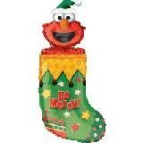 Single Source Party Supplies - 36 Elmo in Stocking Mylar Foil Balloon by Single Source Party ()