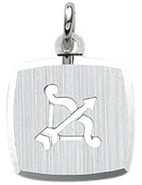 Silber 925 Sterling Silver Sternzeichen Anhänger - Schütze - B. 10,9 mm - H. 10,9 mm