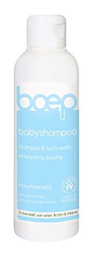 boep babyshampoo – Waschgel für Haut und Haar – Naturkosmetik, liebevoll entwickelt von einer Ärztin und Mama (150ml)
