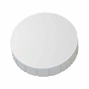 Maul solid aimant rond 32 mm 0,8 kg force adhésive-blanc-lot de 10