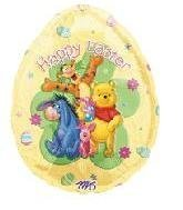 Single Source Party Supplies - 30 Winnie The Pooh & Friends Easter Egg Mylar Foil Balloon by Single Source Party ()