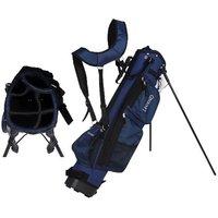 BULLET Golftasche Pencilbag Tragetasche in blau für max. 6 Schläger