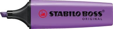 pack-of-3-lavender-stabilo-boss-highlighters-fluorescent-colours-water-based-ink