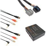 isimple-isgm534-automotive-dual-auxiliary-input-kit-for-select-cadillac-sts-vehicles