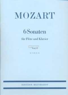 (Sonaten, Flöte und Klavier) Sechs Sonaten für Flöte und Klavier, in 2 Vol., Vol.2 (Sechs Sonaten Für Zwei Flöten)