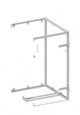 BINTO Mülltonnenbox Erweiterungsgestell Metall