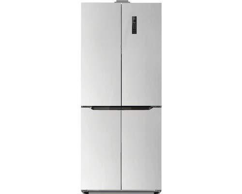Schneider SCD400A++NF IX Edelstahl-Look Side by Side, A++, 261/104 Liter, 185 cm - Ss-side-by-side Kühlschrank