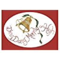 Derwentwater Designs Ding Dong Merrily Kit per creare biglietti di auguri di Natale