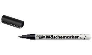 Kreul 90420 - Javana Wäschemarker, 1 mm, schwarz