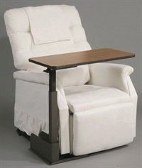 Drive Medical Ltd AM Fab Over Riser Table for Rise and Recline Chair Left Hand Side 13085/L