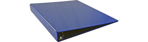 11x 1761x 45,7cm Acryl Binder, angle-d Ring, Blau (917120) (Blau D Ring Binder)