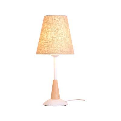 AGECC Desk Lamp Modern Minimalist Bedroom Living Room Study Lamps Children Bedroom Bedside Lamp,Coffee,Button Switch