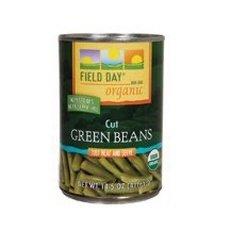 Field Day Beans Og Green Cut 14.50-Ounce (Pack of 12)