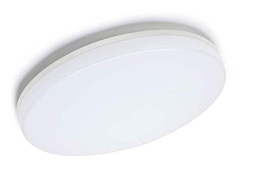 Aogled LED Plafoniera 24W 2400LM 4000K Bianco Naturale Rotonda 28CM,Impermeabile IP54,180 Angolo,Interno Lampada a Soffitto Per Camera da letto,Cucina,Cantina,Corridoio,Ufficio,Bagno