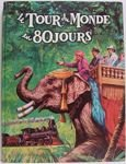 Le tour du monde en 80 jours - Del Duca Paris - 01/08/1964