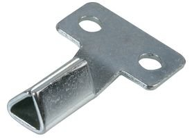 Best Price Square Meter Box Key, Zinc Plated D02074 by DURATOOL