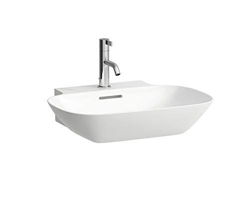 Laufen INO Aufsatzwaschtisch, ohne Hahnloch, ohne Überlauf, US geschl. 560x450, weiß, Farbe: Weiß