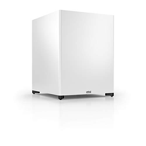 Nubert nuSub XW-900 Subwoofer | Lautsprecher für Bass & Effekte | Surround & Action auf höchstem Niveau | Aktivsubwoofer-Technik | LFE-Box mit 380 Watt | Subwoofer Weiß
