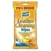Paquete de toallitas para limpiar cuero 24 unidades. Limpia y protege. Sofás, canapés