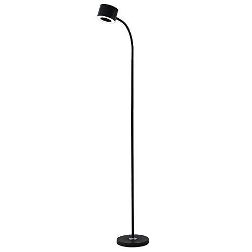 Leuchtstofflampen Stehleuchte (Link Co Postmoderne Stehleuchte Personalisiertes Dimmlicht Stehende Lampe lesen Stehende Lampe für das Schlafzimmerlesen Biegsame Einstelllampe Mode Fernbedienung Licht Metallschlauchleuchte Indoor)