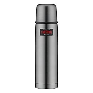Thermos 4019.218.075 Isolierflasche Light&Compact, 0, 75 Isolierflasche, Edelstahl, Grau, 7, 6 x 28, 3 cm