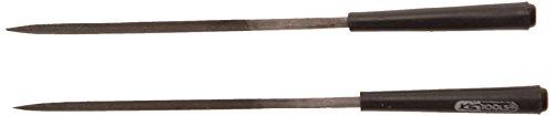 KS Tools 140.3056 – 2 Limes aiguille 145mm carrée 2mm pas cher