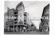 Descargar Libro Milan, Berlin, Valencia de Gabriele Basilico