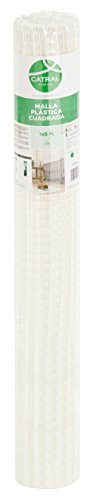 Catral 52010016 Rouleau de Grillage à Maille carrée Blanc 0,2 x 300 x 100 cm