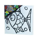PaintaDoodle 12x12 Fish Canvas