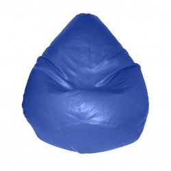 S M Bean Bag King Bean BLUE Cover Blue Color Cover(Blue)