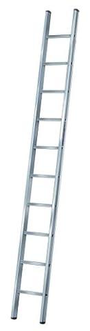 Brennenstuhl 1460810 Anlegeleiter Aluminium 8 Sprossen (Sk Leiter)