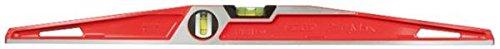 Stanley FatMax Wasserwaage Antichoc MLH (60 cm Länge, ergonomisches Design, horizontale/vertikale Libelle) 1-42-314
