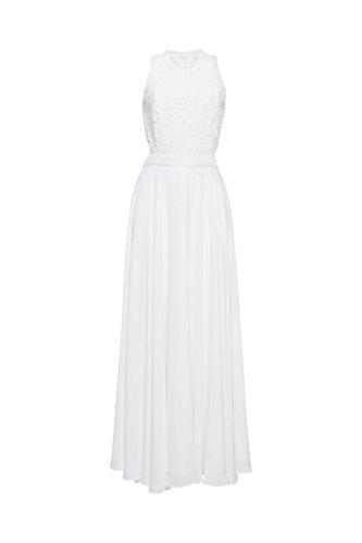 ESPRIT Collection Damen Partykleid Weiß (Off White 110)