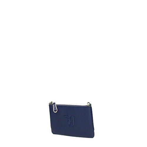 Trussardi Jeans 75B563XX Pochettes Donna Blu