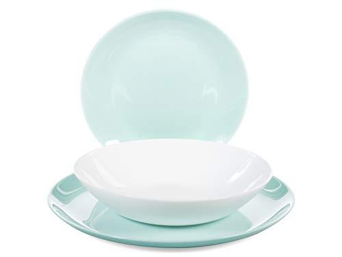 Luminarc Diwali Vajilla vidrio opal extra resistente