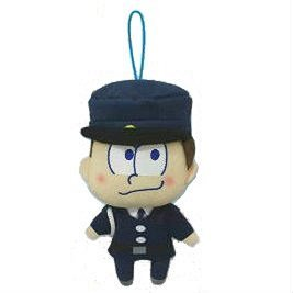 Osomatsu's aligned six retaining clips stuffed mascot larch fashion various stuffed animals - Mascot-clip