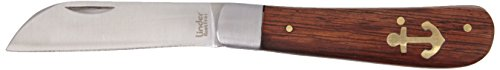 Linder Ankermesser, rostfrei, Palisanderholz, Heft 9 cm, Klappmesser