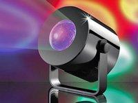 Lunartec Mobiles Mini-LED-Discolicht mit Batterie-Betrieb von Lunartec auf Lampenhans.de