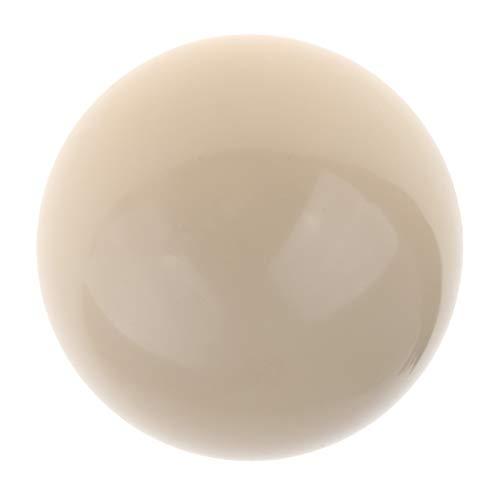 CUTICATE Billard Kugel Einzelkugel 57,2 mm Weiß Spielball Poolbillard