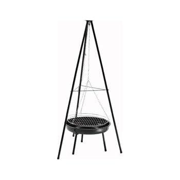 grillchef 543 schwenkgrill classic 3 bein landmann barbecue suspendu classic avec grille de 50. Black Bedroom Furniture Sets. Home Design Ideas
