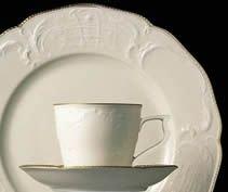 Rosenthal Studio + Selection Sanssouci Elfenbein Kaffeeservice 21-tlg Gold
