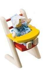 Rülke Holzspielzeug 22006 - Silla para bebés para casa de muñecas