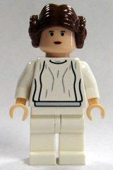 igur - Prinzessin Leia, weißes Kleid - (Princess Leia) - Diese Figur ist nicht verklebt! ()