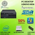 PC Lenovo ThinkCentre M58Dual Core E55002.8GHz 4GB RAM 160GB...