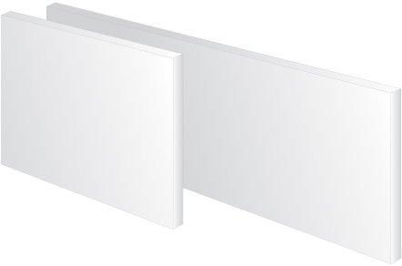 21Y5GzmnsWL - Energy saving, modern Infrared heating Panel 100 W - 1000 W (glass, aluminium, wood) (Elegant frameless, 200 W)