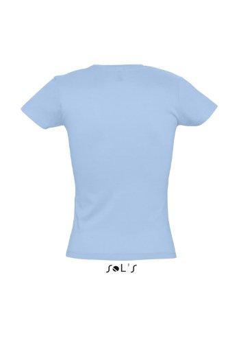 Sol's T-shirt da donna Miss 11386 cielo