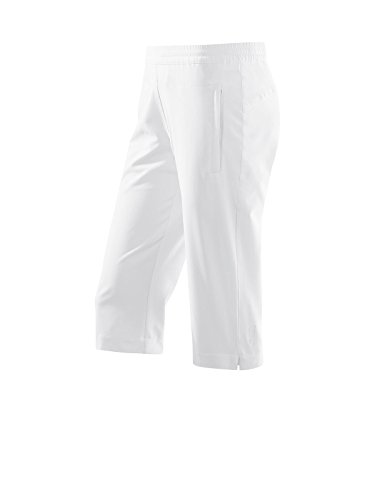 Michaelax-Fashion-Trade Joy - Damen Capri Hose, Suzy (895), Größe:40, Farbe:White (00100)