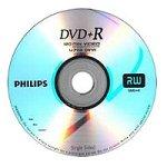 Philips DVD+R 4.7GB 120min 8X