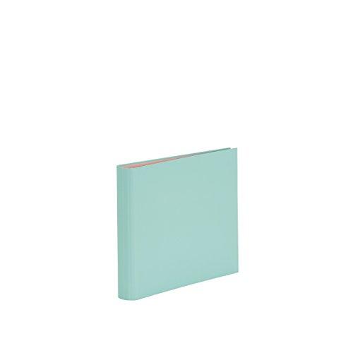 Rössler Papier Fotoringbuch (50 nachfüllbare weiße Seiten, 25 Blatt, 23 x 21 cm) mint