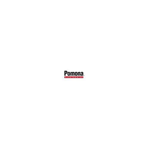 Unbekannt Pomona Electronics 3782-24-0 Messleitung [Lamellenstecker 4mm - Abgreifklemmen] 0.6m Schwarz